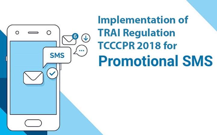 Implementation of TRAI Regulation